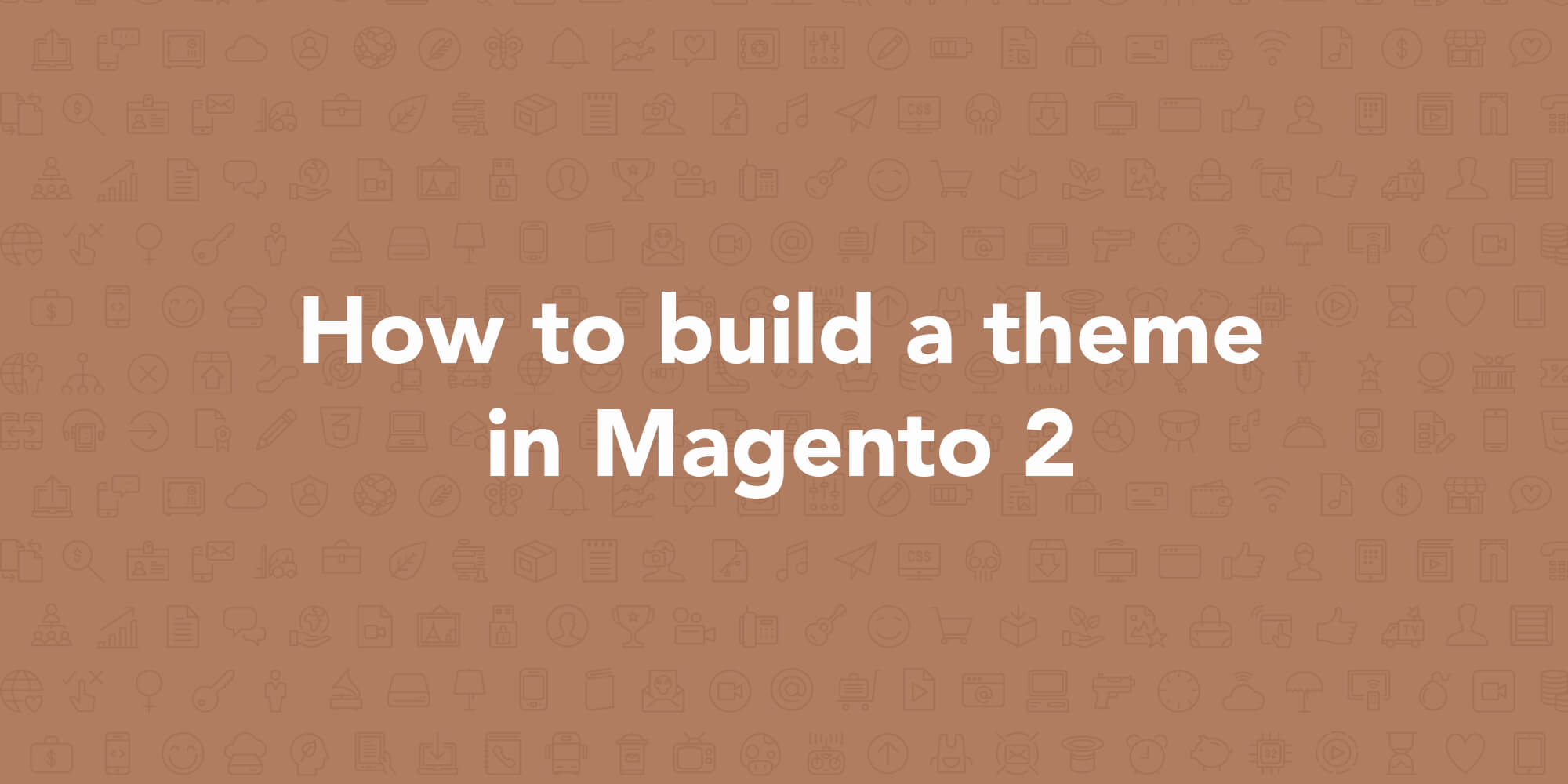 how to build magento theme from scratch