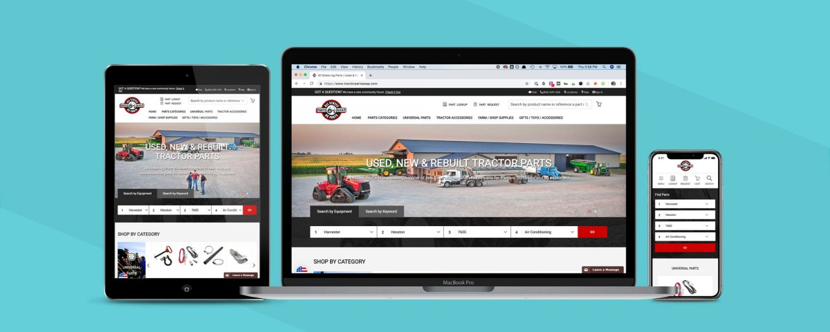 All States Ag Parts – Fitment (Part Search)