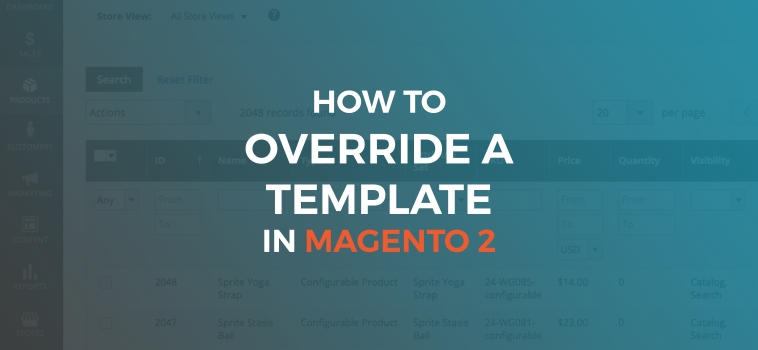 How to Override a Template in Magento 2