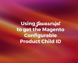 Using Javascript to Get the Magento Configurable Product Child ID
