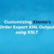 Utilizing XSLT with Xtento's Order Export Magento Module